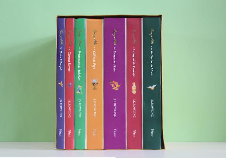 box harry potter livros