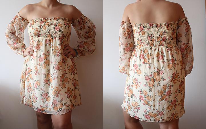 vestido verão forever 21