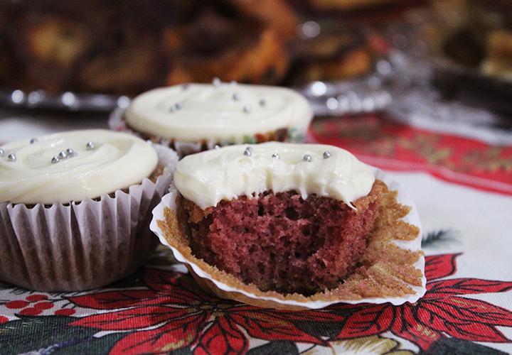 cupcake de red velvet