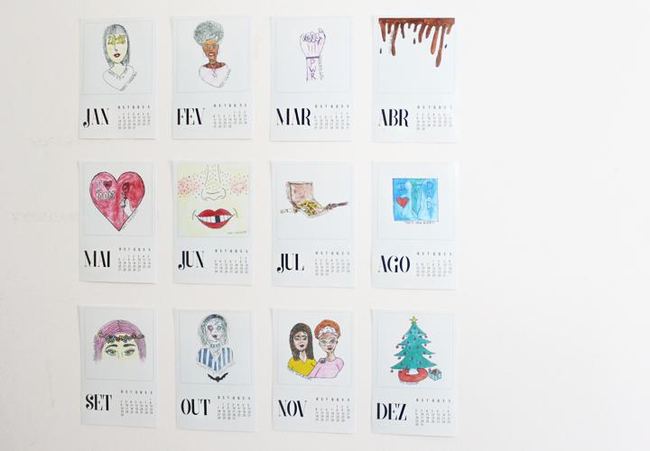 calendario desenho